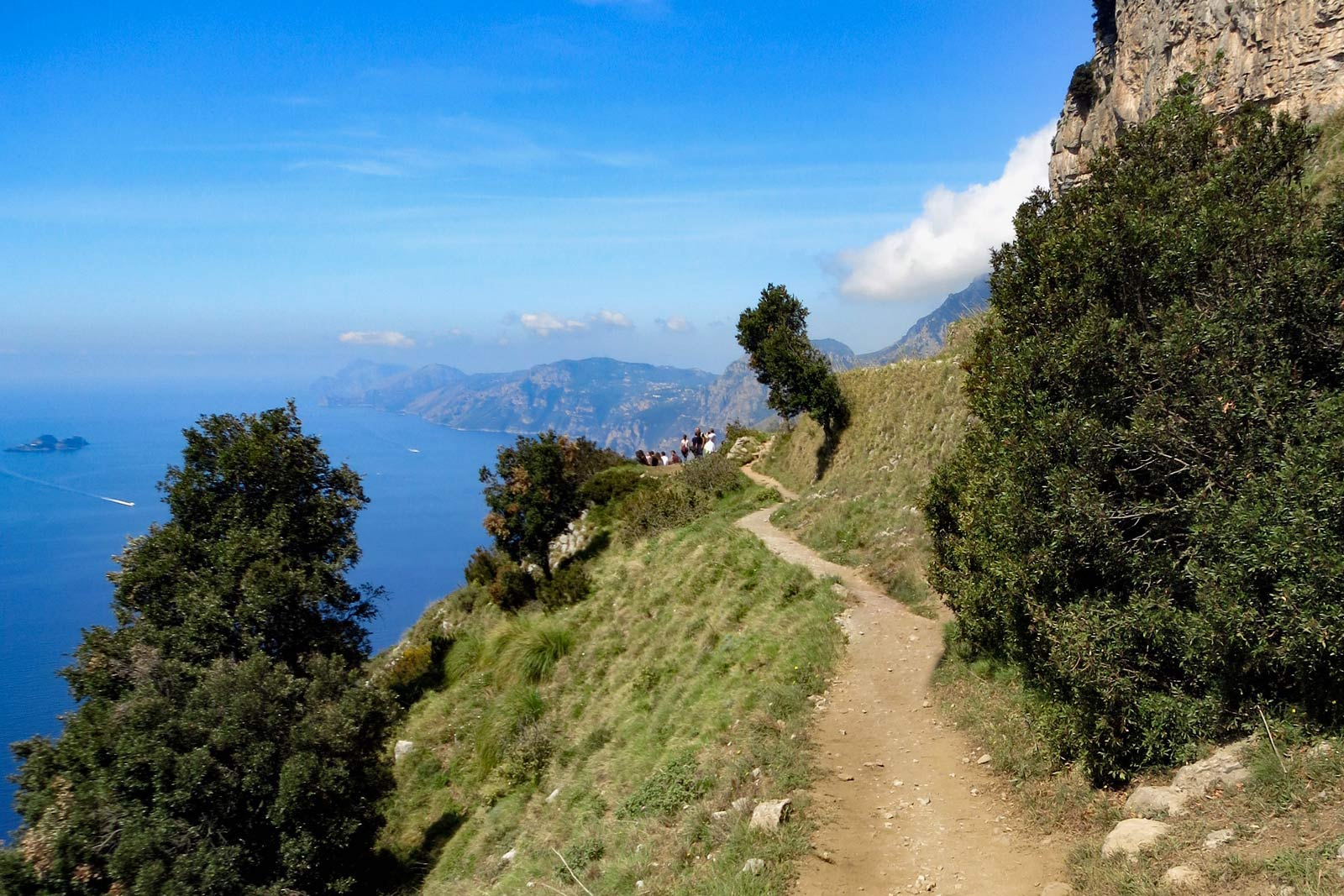 Path of Gods in Amalfi Coast