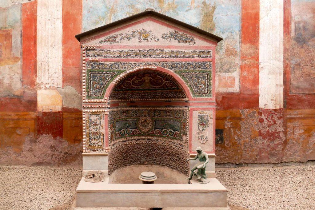 Ancient house in Pompeii
