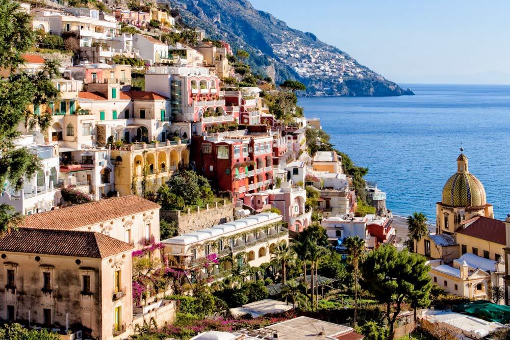 Positano Church in Amalfi Coast