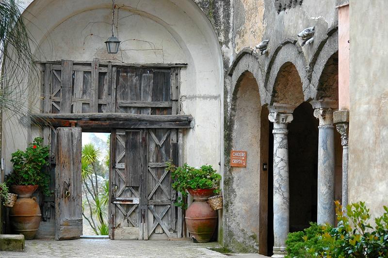Entrance of Villa Cimbrone, Ravello