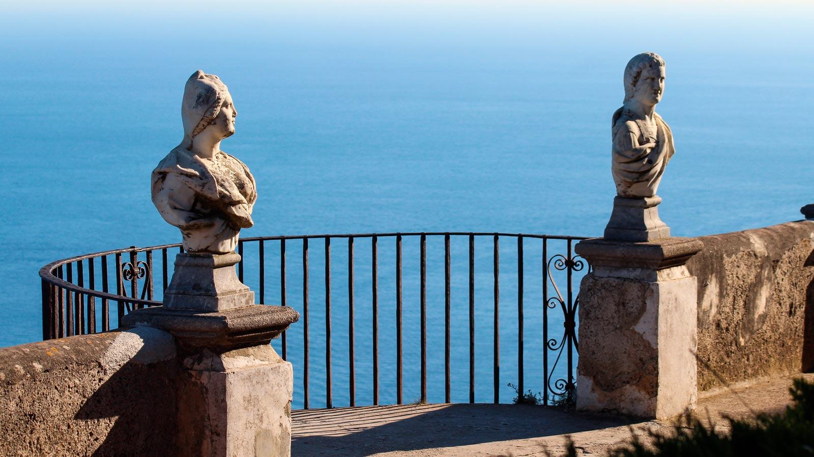 Infinity Terrace view, Villa Cimbrone Ravello